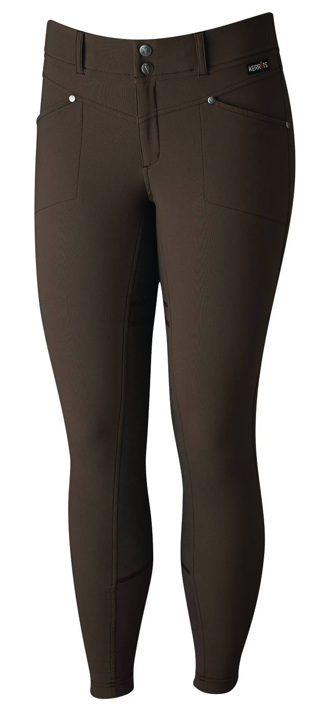 Kerrits Ladies Cross Over Full Seat Riding Breech