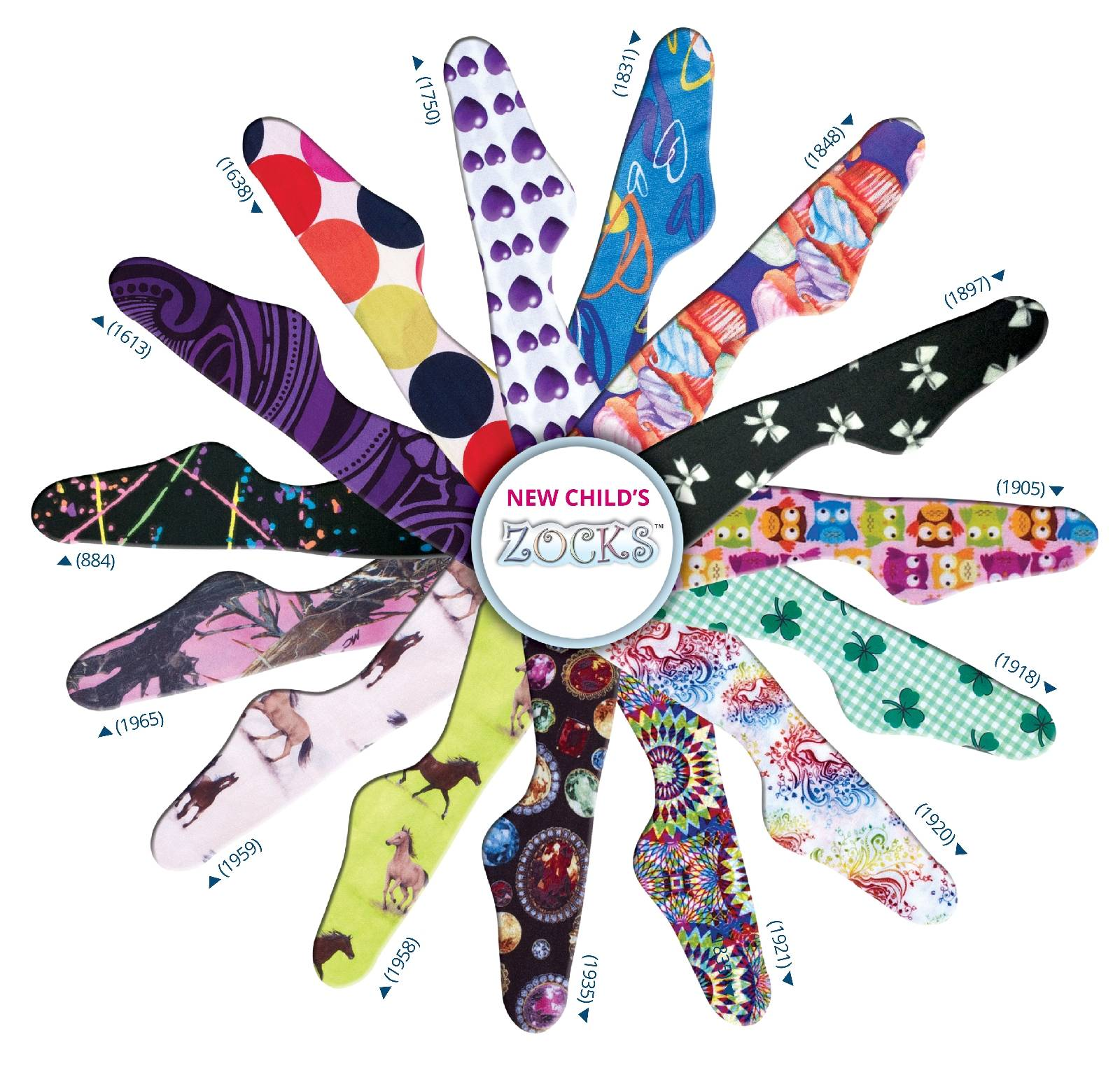 Ovation Zock Socks - Kids