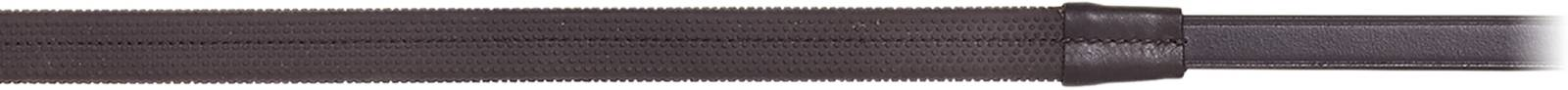 Camelot Rubber Covered Reins - Stops