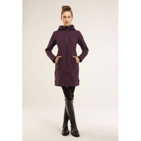 Asmar Ladies All Weather Rider Coat-Plum