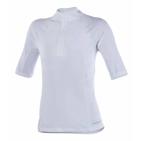 Noble Outfitters Amy 1/4 Zip Mock - Ladies, Short Sleeve