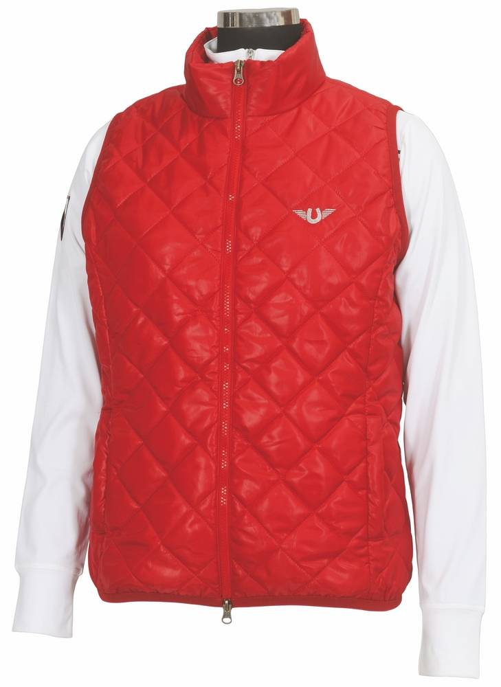Tuffrider Alpine Quilted Vest - Ladies