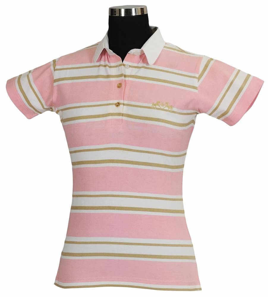 Equine Couture Ladies Redwood Polo Shirt