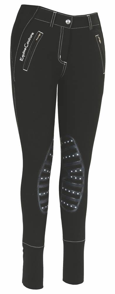 Equine Couture Tynsley Breeches - Ladies, Knee Patch