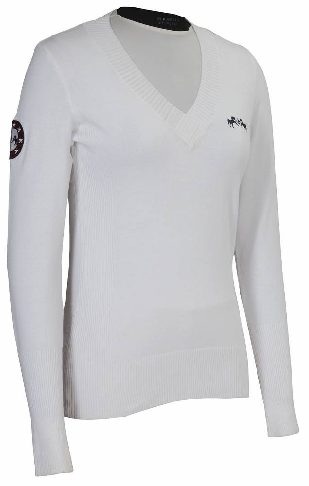 Equine Couture Patriot Slim Fit Sweater - Ladies