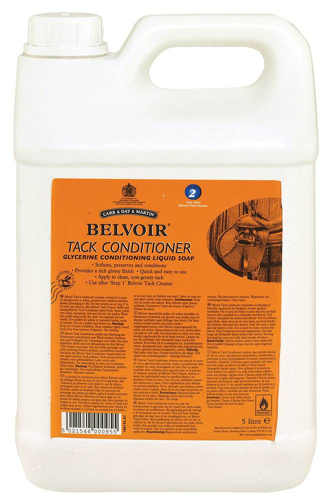 Belvoir Tack Conditioner- 5L