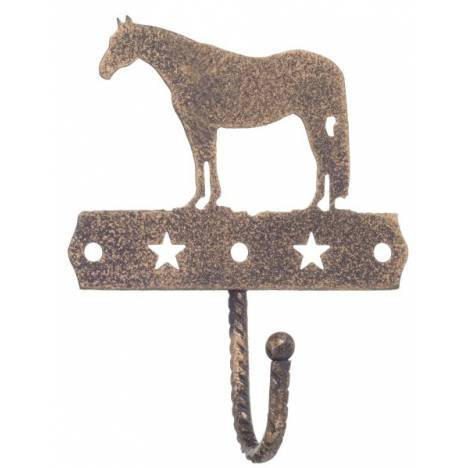 Gift Corral Single Hook - Quarter Horse