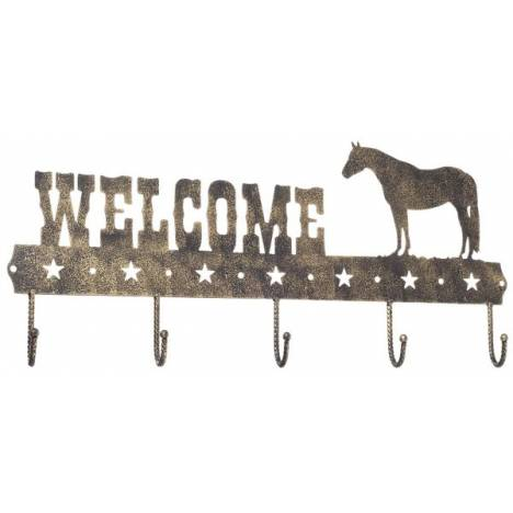 Gift Corral Welcome Sign Hook - Quarter Horse