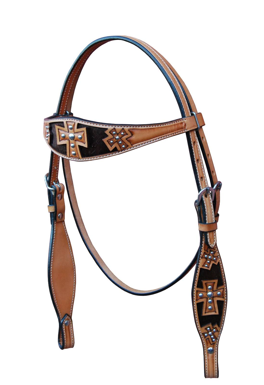 Turn-Two St. Augustine Browband Headstall - Lt Oil