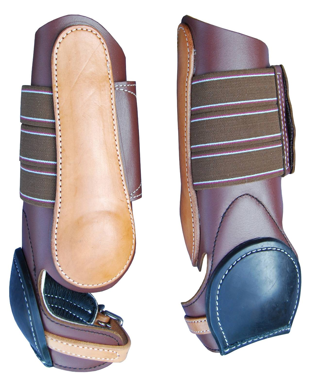 Turn-Two Western Leather Skid Boot