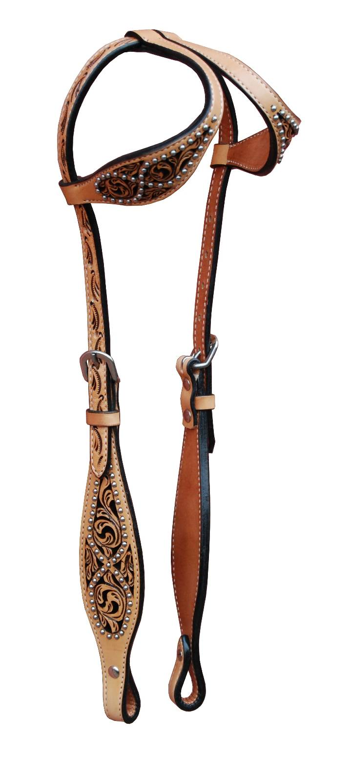 Turn-Two Double Ear Headstall - Southfork