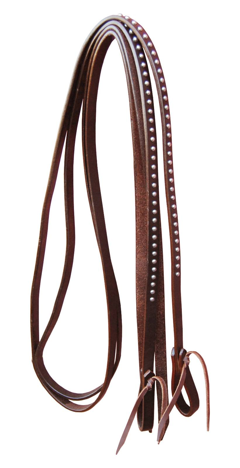 Turn-Two Copper Spot Split Reins