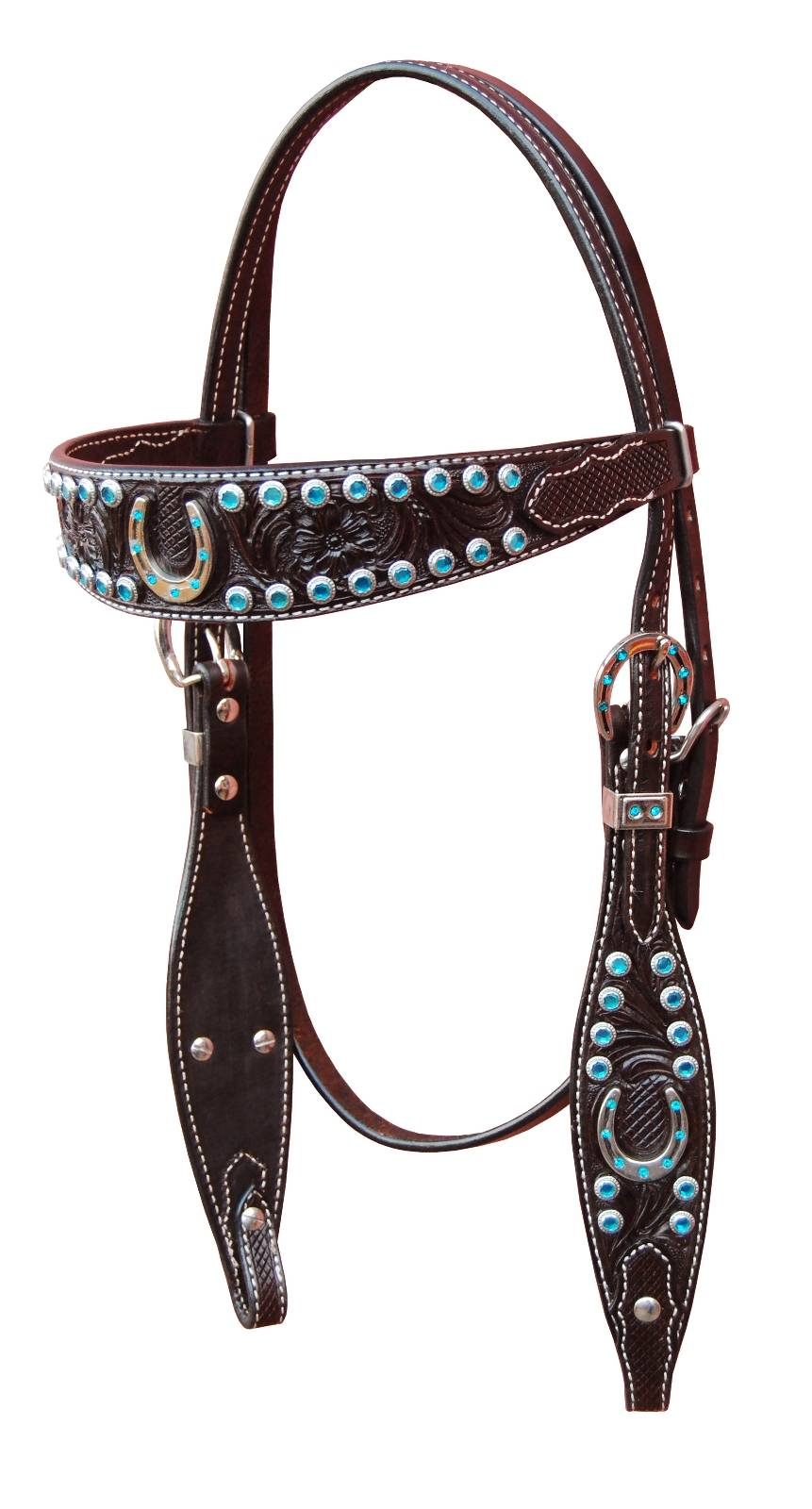Turn-Two Browband Headstall - Stampede