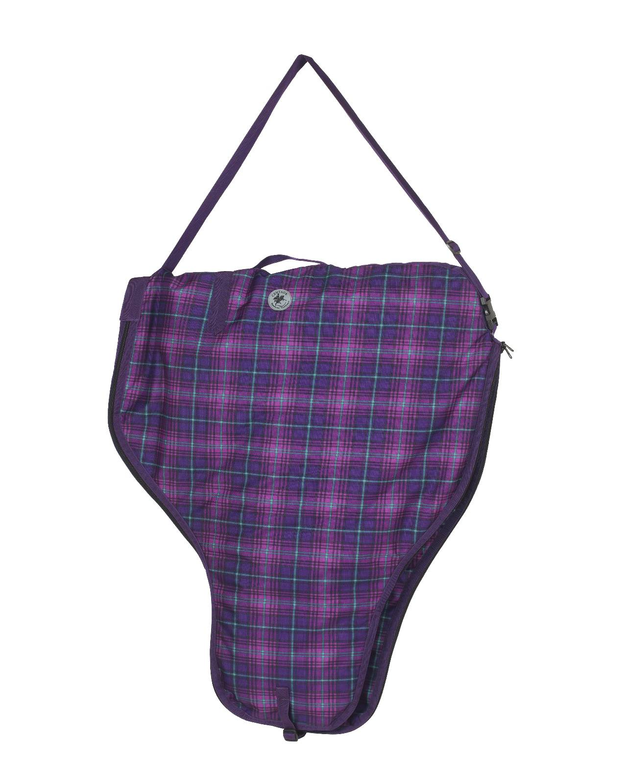 Centaur Western Saddle Carry Bag - Plaid