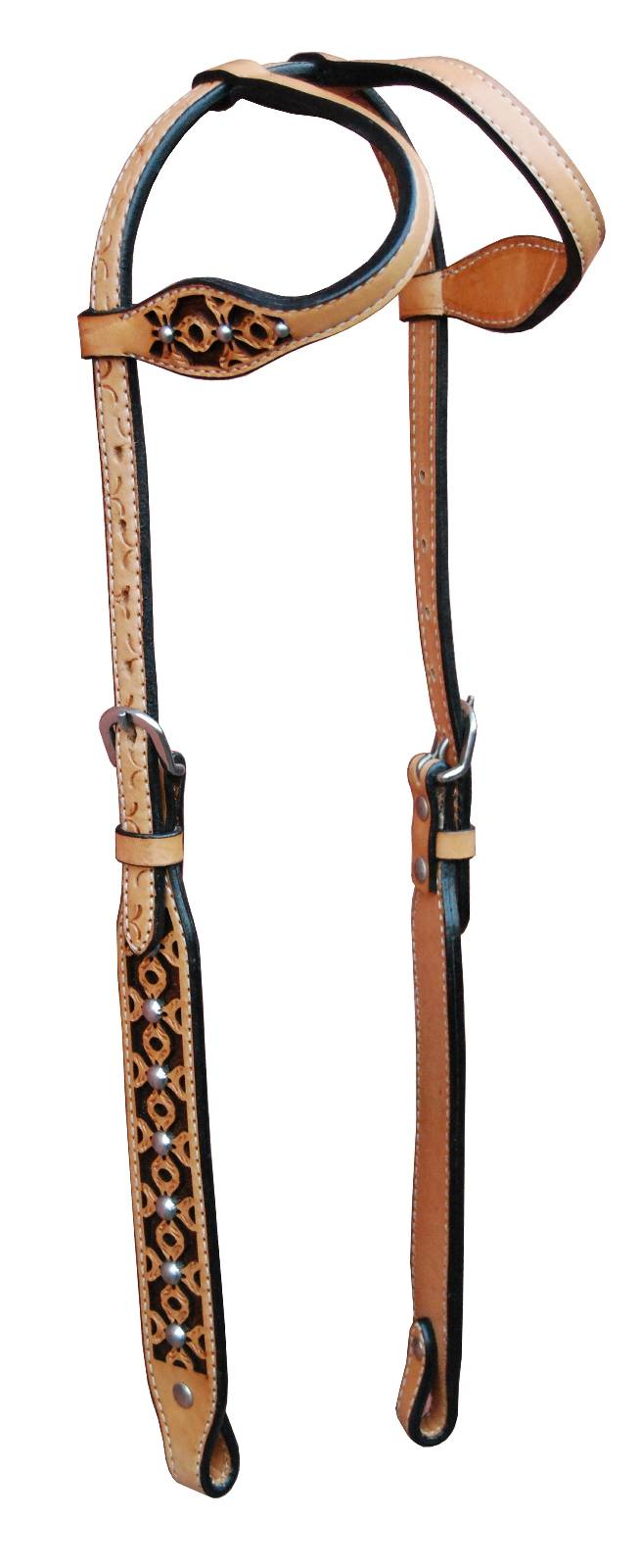 Turn-Two Double Ear Headstall - Ponderosa