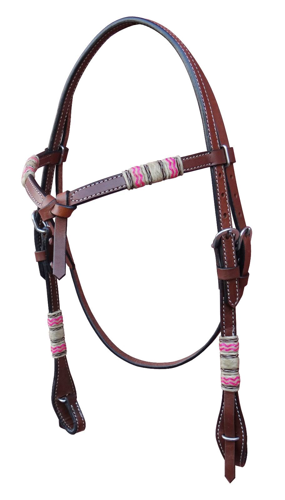Turn-Two Knotted Headstall - Laredo