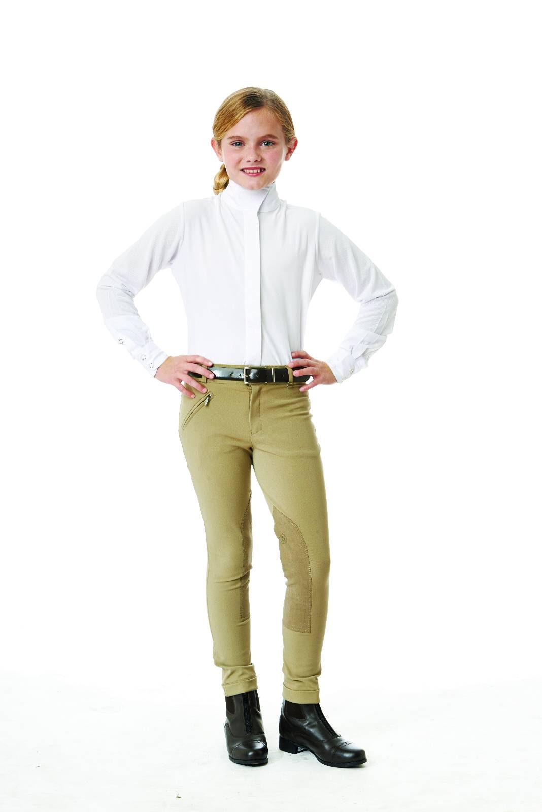 Ovation Tech Show Shirt - Kids, Long Sleeve