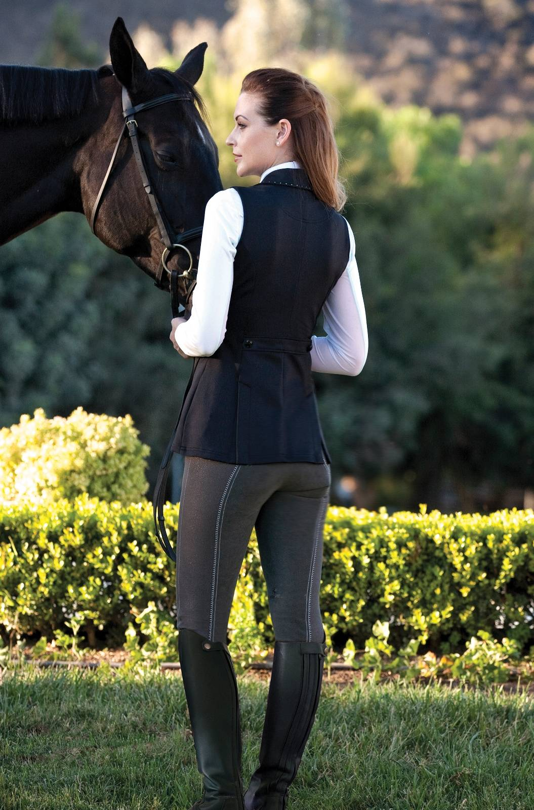 Romfh International Sparkle Denim Breeches - Ladies, Full Seat
