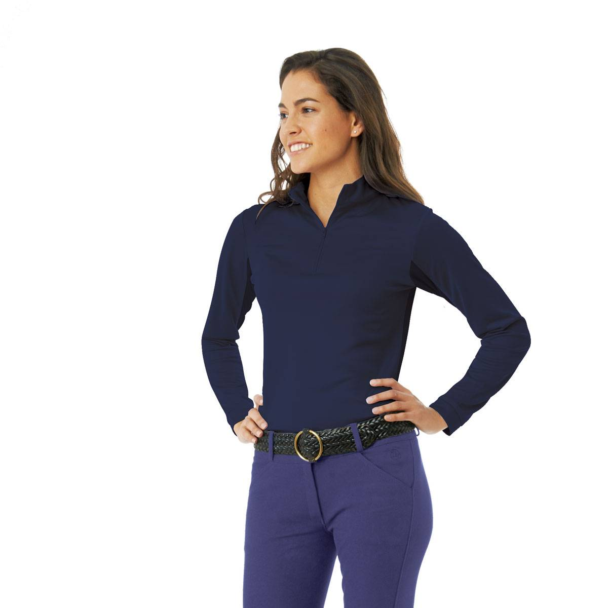 Ovation Cool Rider Zip Mock - Ladies
