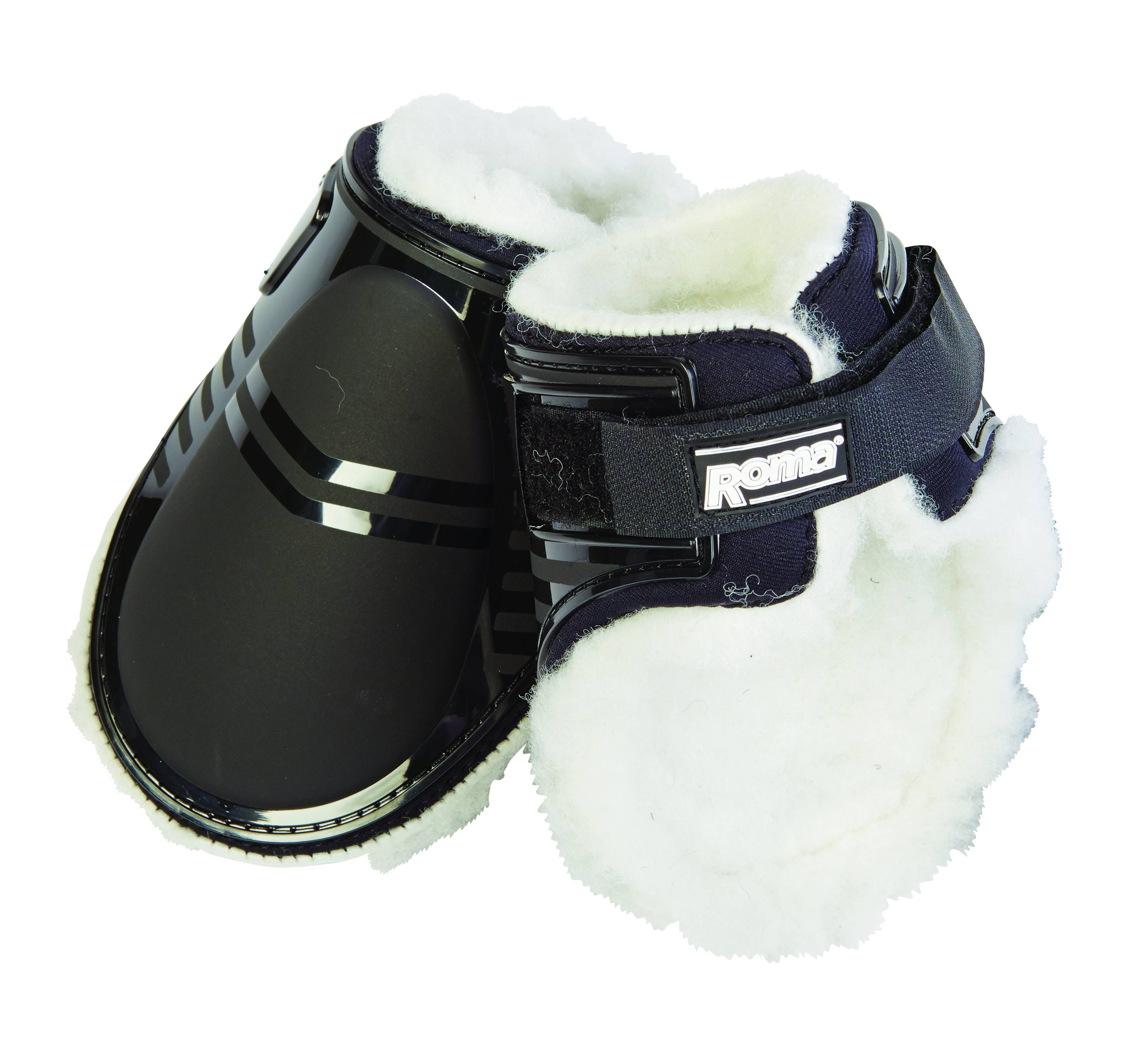 Roma Neoprene Rubber Cap Tendon Hind Boots