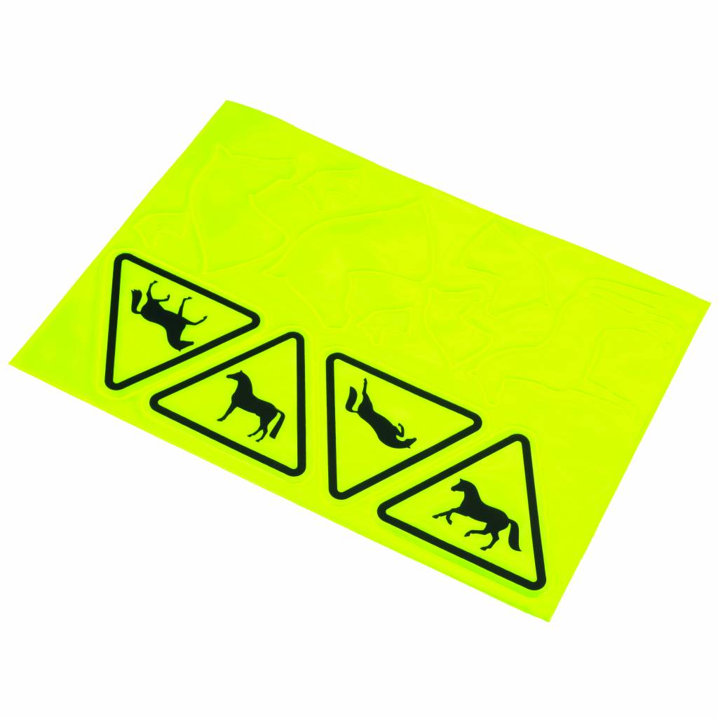 Kelley Horse Caution Stickers