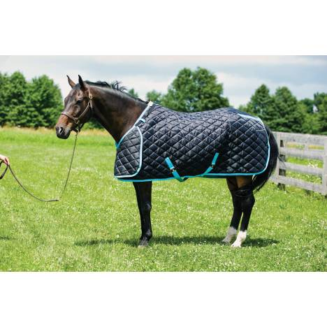 HUG Prize Stable Blanket - Heavy Weight, Black