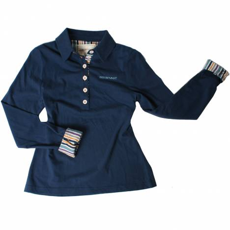 Horseware Cara Polo Shirt - Ladies, Long Sleeve