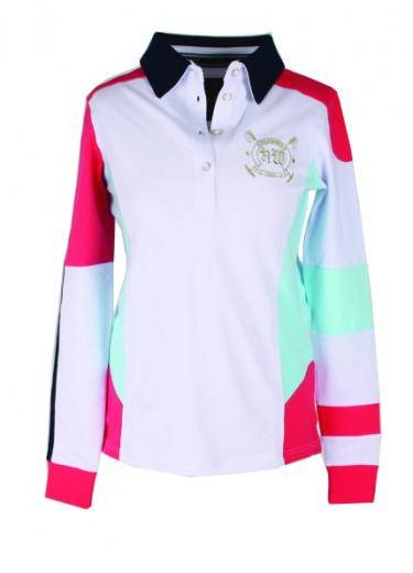 Horseware Newmarket Cheri Tech Polo - Ladies, Long Sleeve