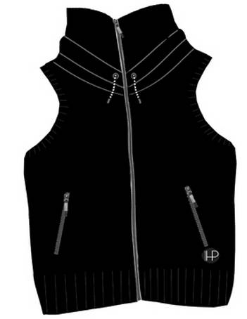Horseware Platinum Serena Fleece Vest - Ladies
