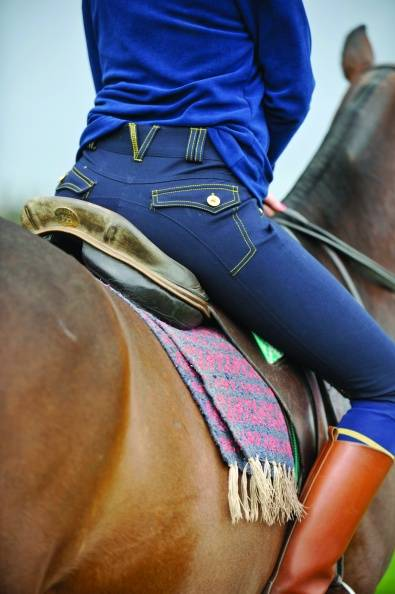 Horseware Newmarket Elise Breeches - Ladies, Knee Patch