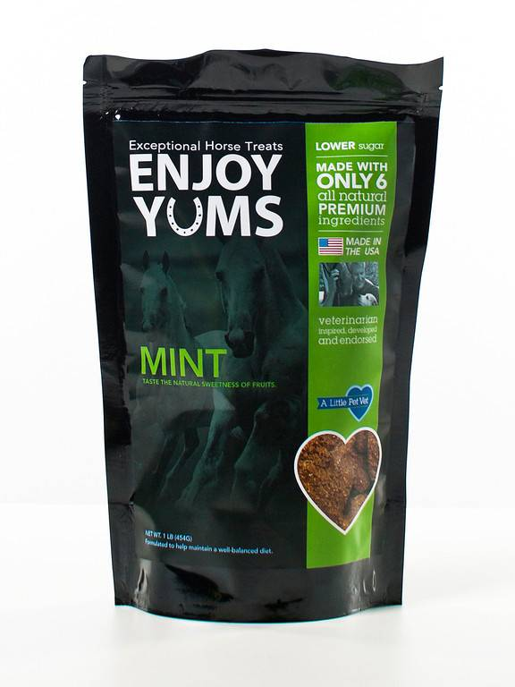 Enjoy Yums Horse Treats - Mint