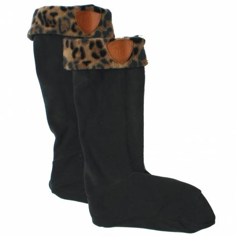 Horseware Fleece Welly Cozy - Black/Safari