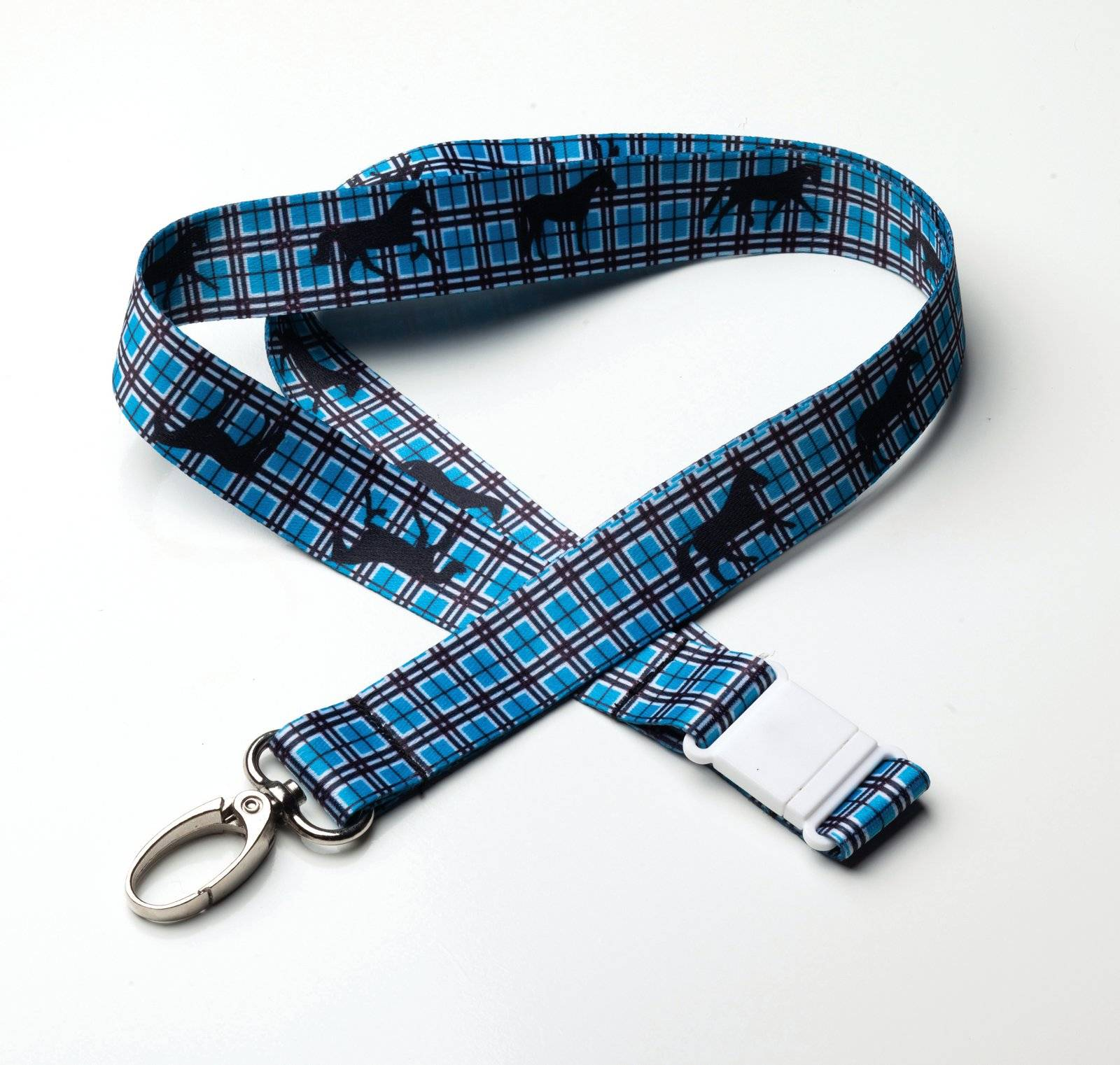Kelley Tek Trek Plaid Lanyard