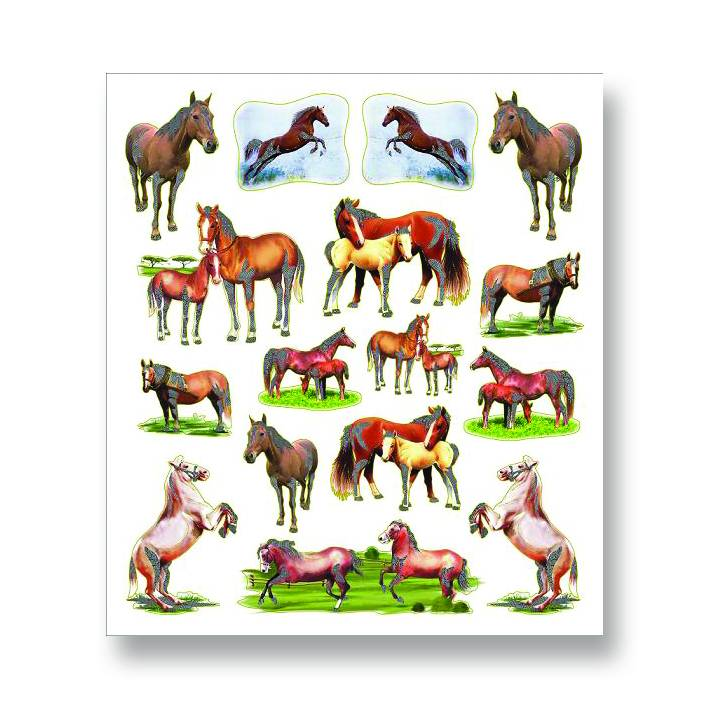 Kelley Mare and Foal Stickers
