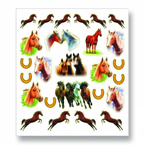Kelley Leaping Pony & Herd Stickers