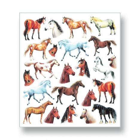 Kelley Horses & Horseheads Stickers