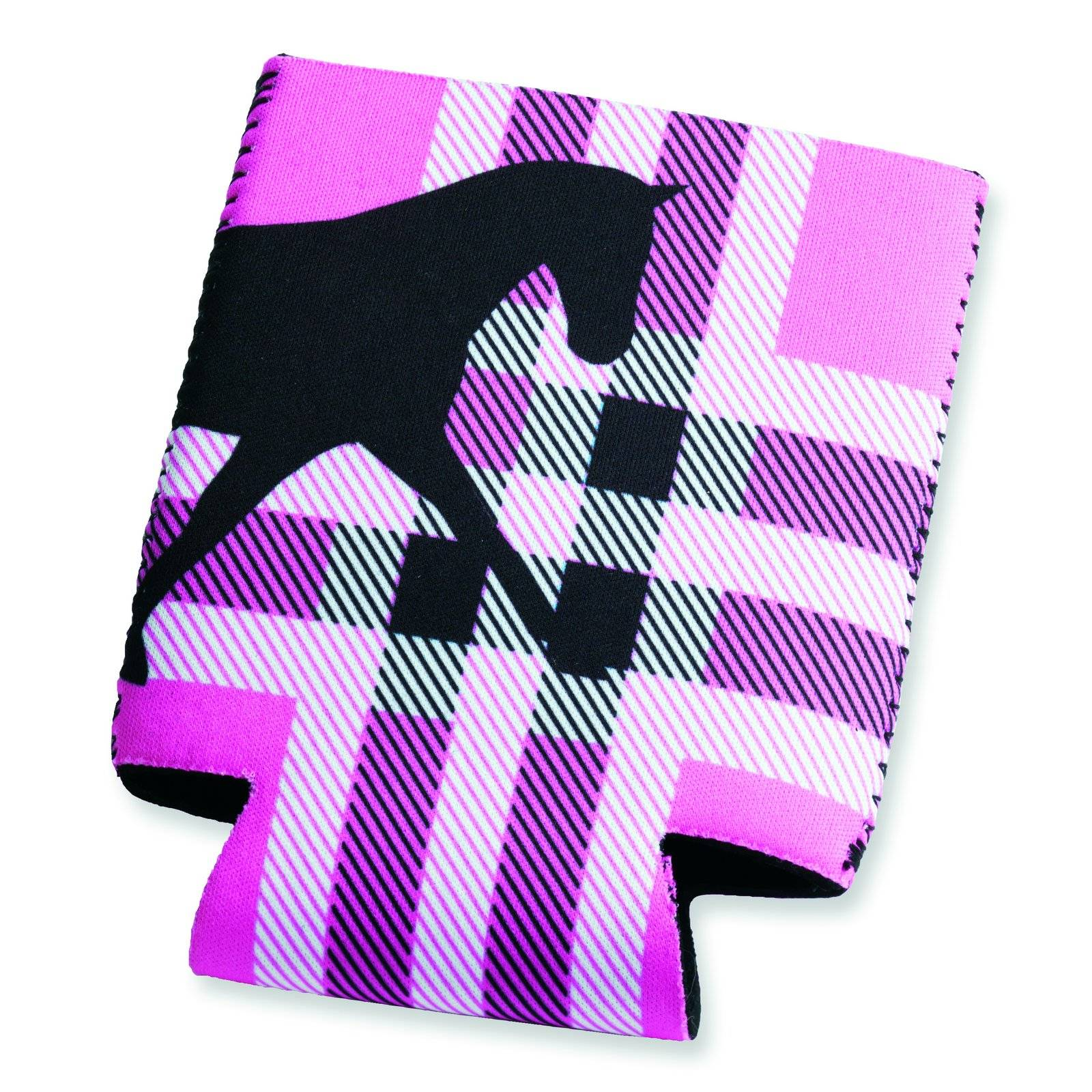 Kelley Tek Trek Neoprene Koozie-Plaid