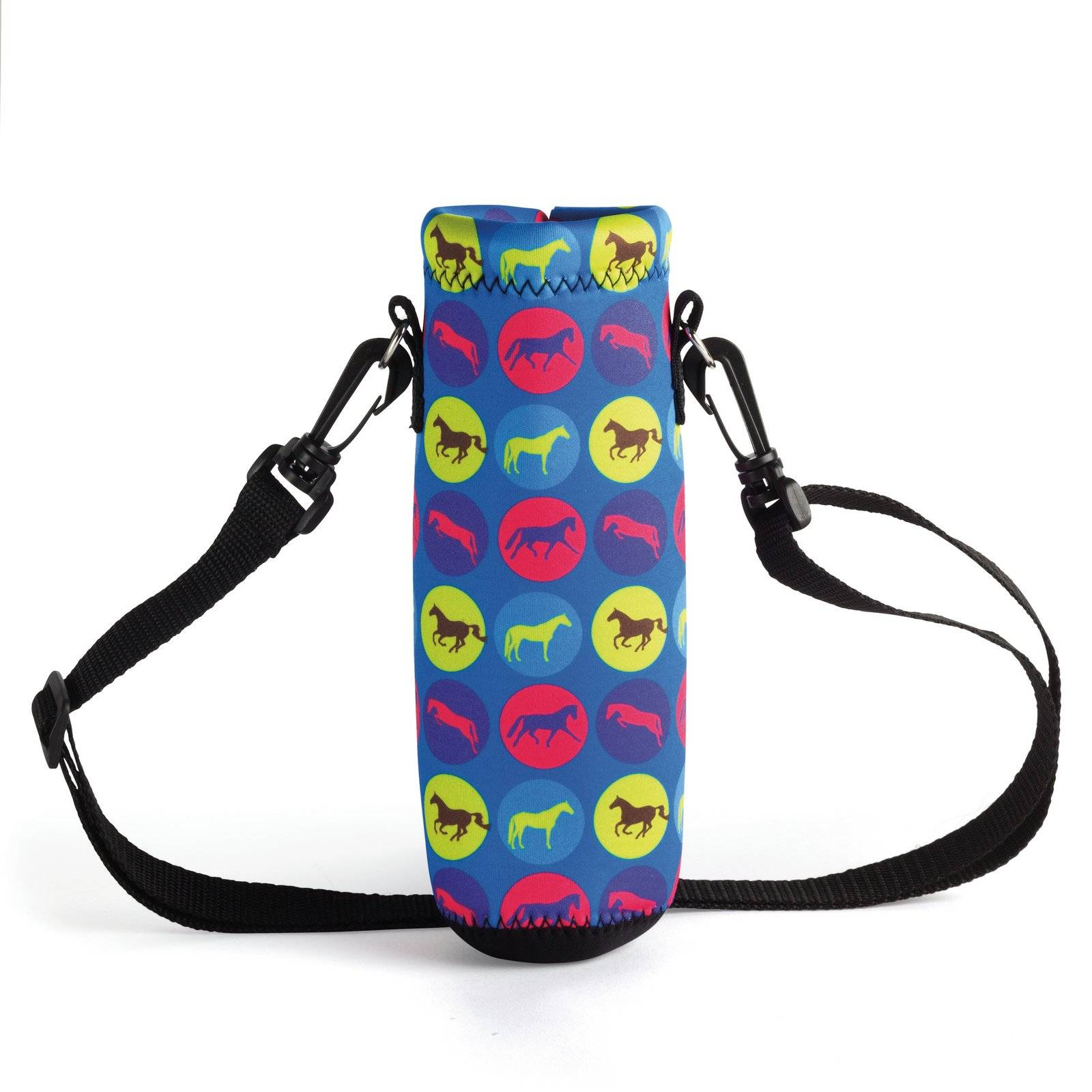 Kelley Tek Trek Neoprene Polka Dot Water Bottle Carrier