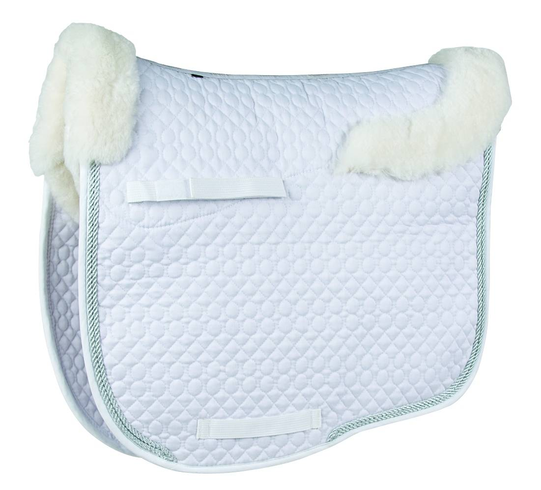 Lettia Sheepskin Dressage Square Saddle Pad
