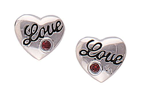 Montana Silversmiths A Cowgirl's Heart Of Love Earrings