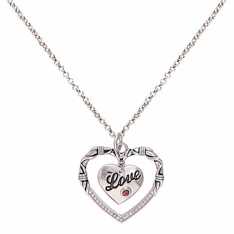 Montana Silversmiths A Cowgirl's Heart Of Love Necklace