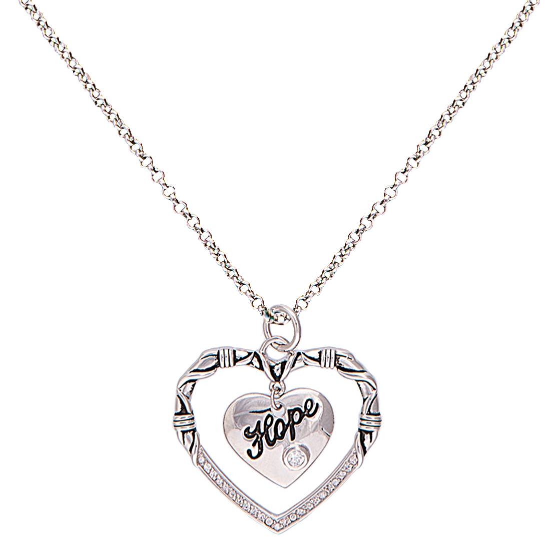 Montana Silversmiths A Cowgirl's Heart Of Hope Necklace