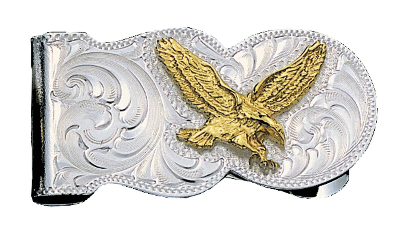 Montana Silversmiths Eagle Scalloped Money Clip