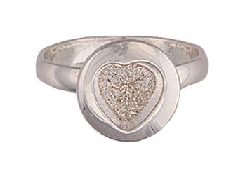 Montana Silversmiths Buried Treasure Heart Ring