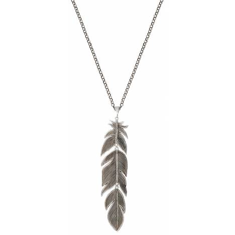Montana Silversmiths Giant Thunderbird Feather Necklace