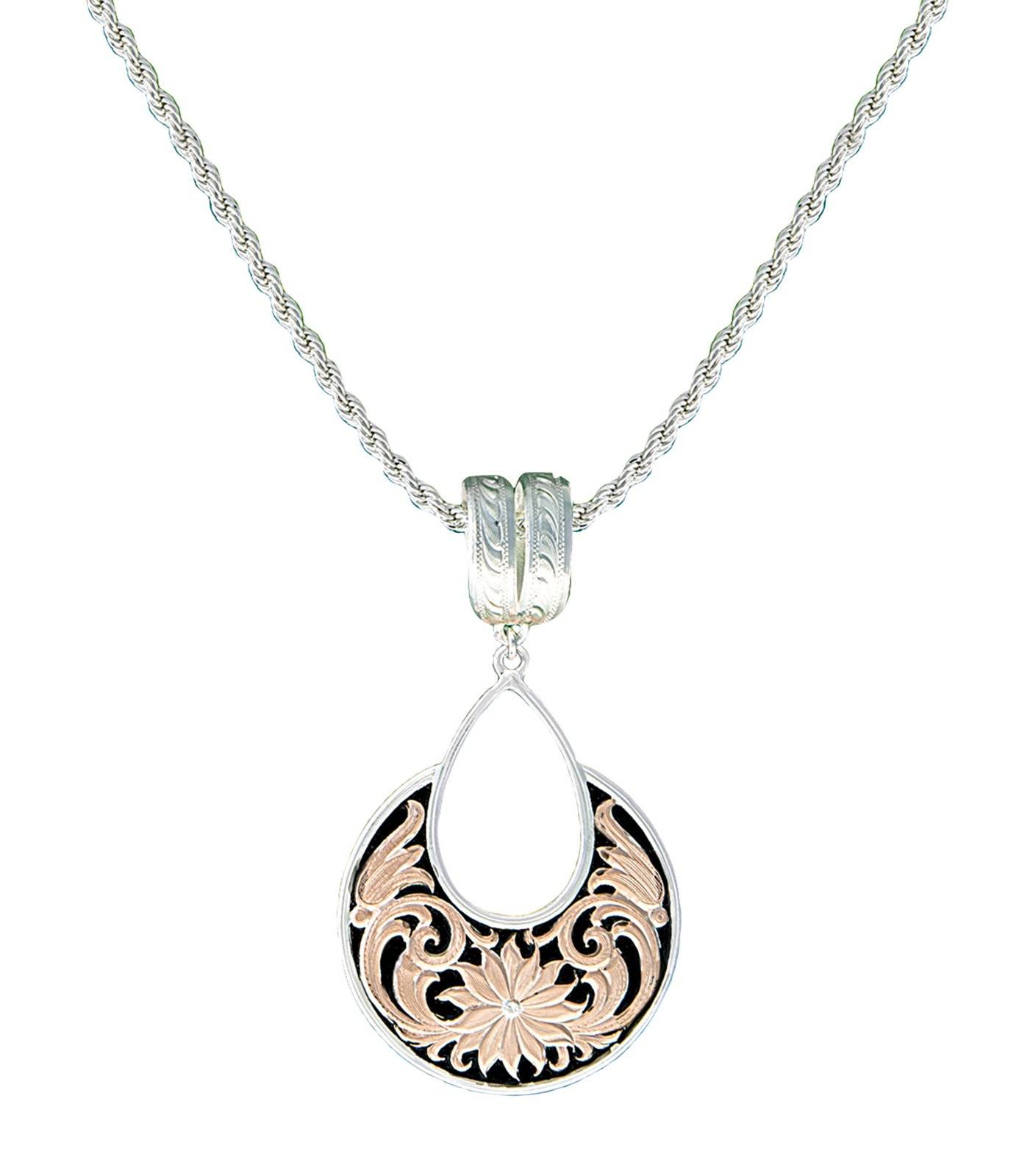 Montana Silversmiths Rose Gold Bitterroot Garden Necklace