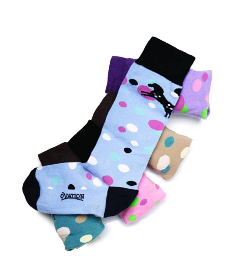 Ovation Bubbles Crew Socks - Kids