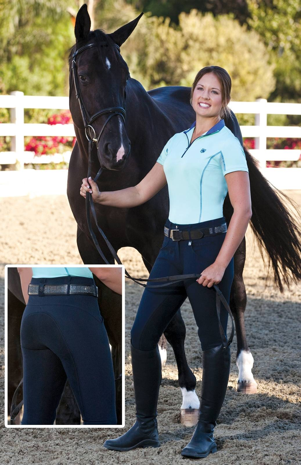 Romfh Champion Full Seat Breeches - Ladies