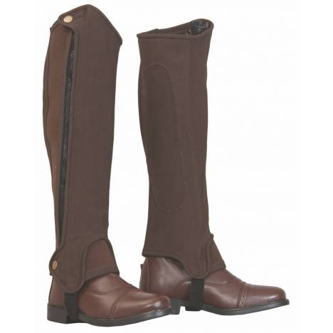 Tuffrider Grippy Nubuck Half Chaps - Adults, Tall
