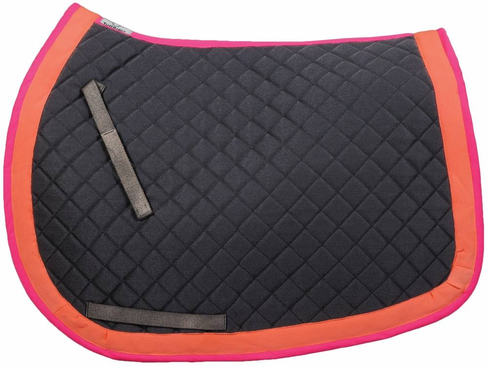 Tuffrider Neon Basic Saddle Pad - All Purpose
